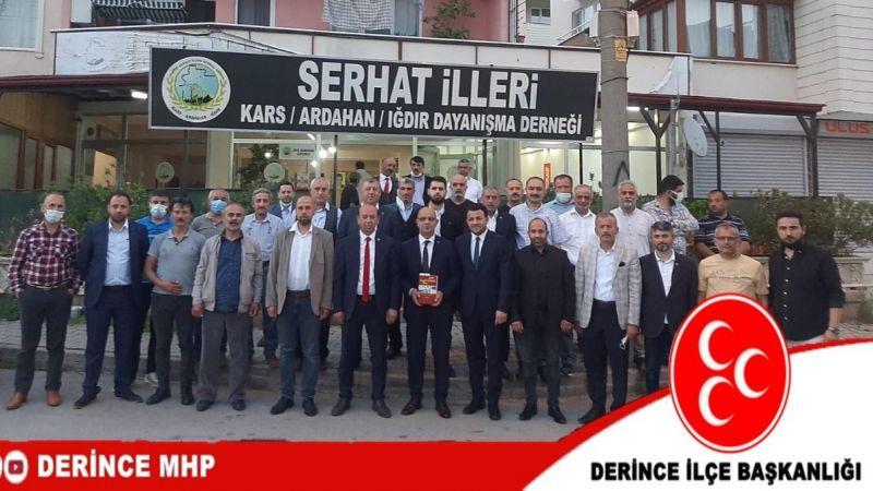MHP Kocaeli teşkilatından Derince turu