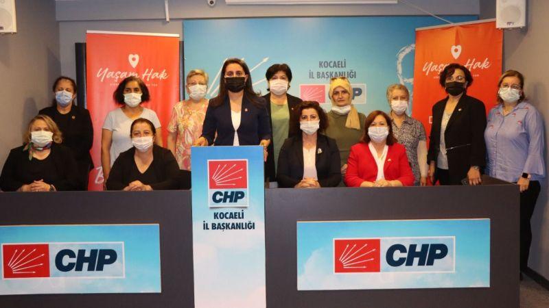 CHP İl Kadın Kolları Başkanı Kaya;