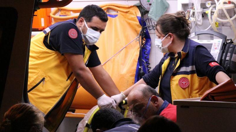 Ocakta unutulan yağın çıkardığı yangında 3 kişi hastaneye kaldırıldı