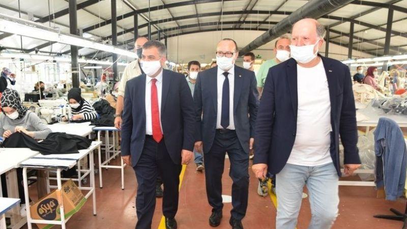 Bakan yardımcısı Kaymakcı, TÜRKAK toplantısını KSO'da gerçekleştirdi