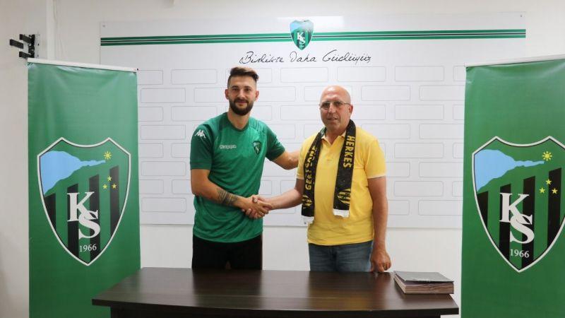 Kocaelispor 2 yıllık sözleşme imzaladı