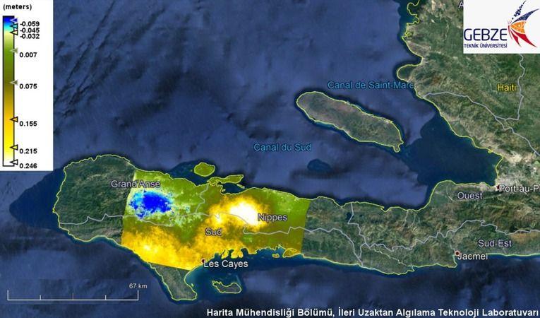 2 bin kişinin öldüğü Haiti Depremi GTÜ tarafından haritalandırıldı