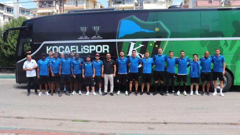 Kocaelispor Ankara yolcusu!