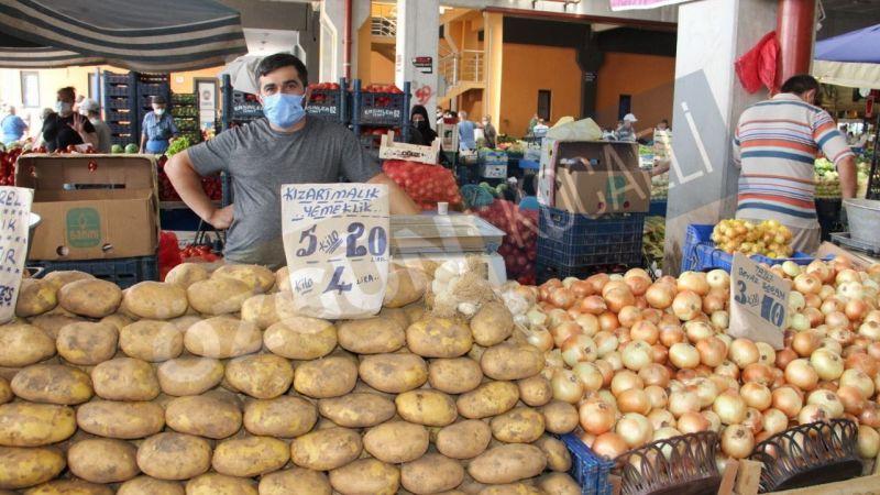 Pazar esnafı: Kuraklık yüzünden tezgâhta ürün yok