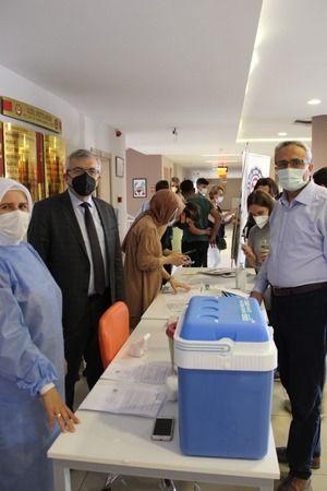 KOTO'nun ögrencilerinden aşı kampanyasına tam destek