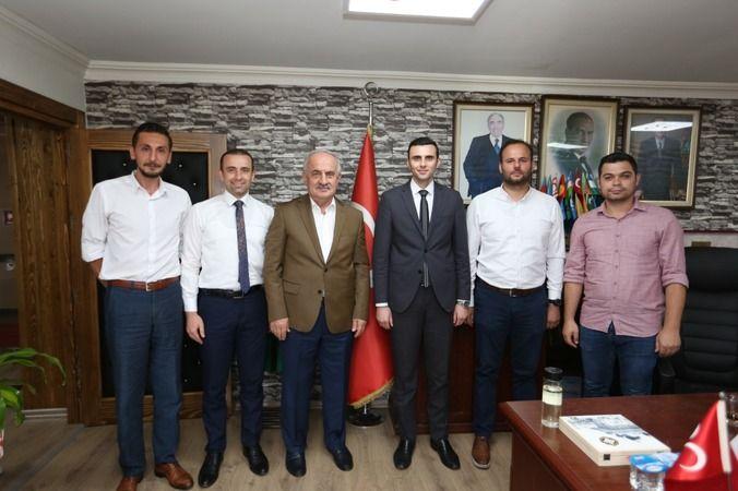 AK Partili Aygün'den MHP'li Başkana ziyaret