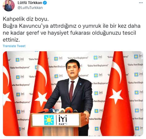 İYİ Partili Vekil İYİ Partili saldırgana yüklendi!