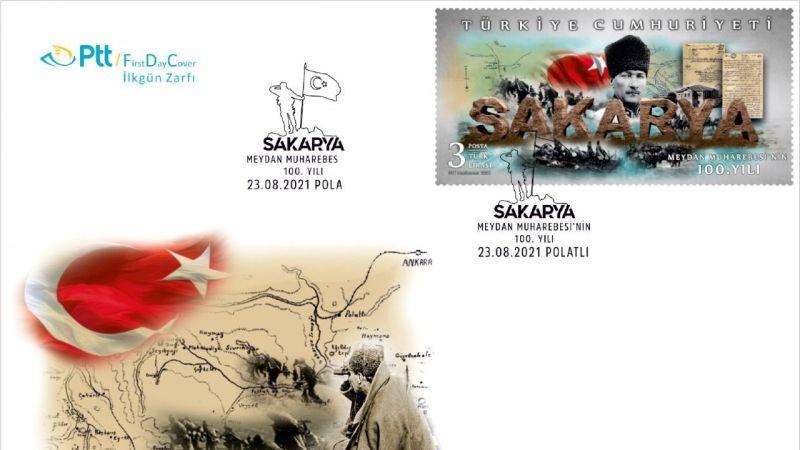 Sakarya Meydan Muharebesine özel pul ve zarf