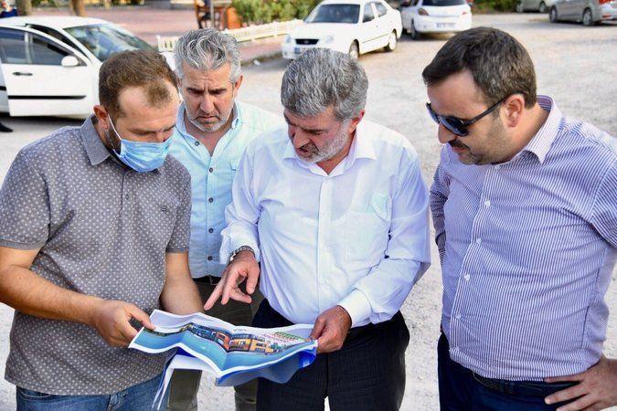 Başkan Özlü ile Vekil Çakır'ın Başiskele Turu