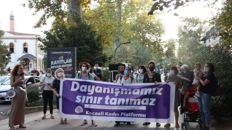 Kocaelili kadınlar: Dayanışmamız sınır tanımaz!