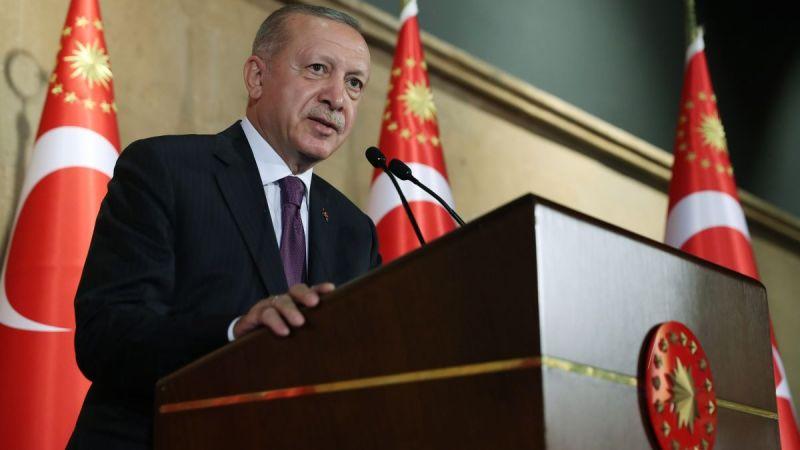 Cumhurbaşkanı Erdoğan büyükelçilere seslendi: Türkiye ilave bir göç yükünü kaldıramaz