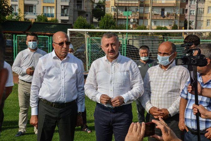 Büyükakın'dan Kocaelispor'a maç öncesi moral ziyareti