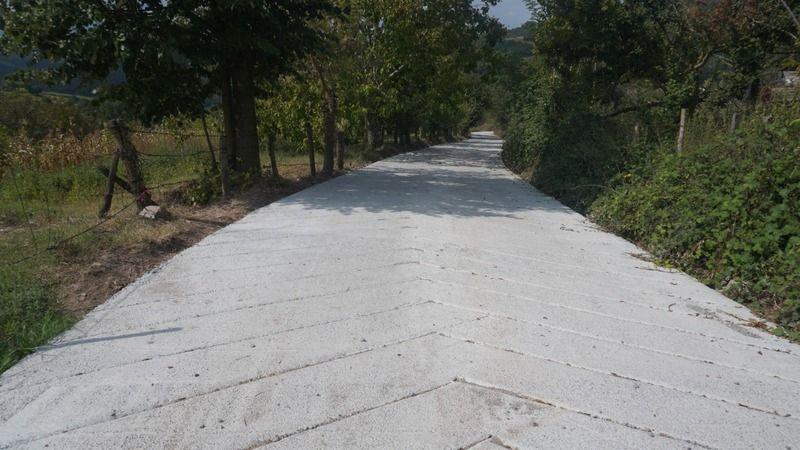 İzmit Belediyesinden Balören'e yeni ve konforlu yol