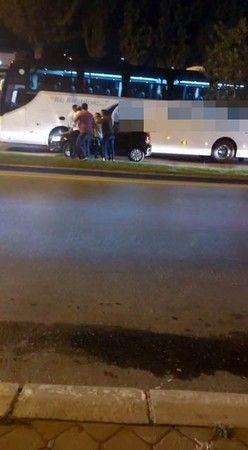 Trafikte birbirlerine saldırdılar