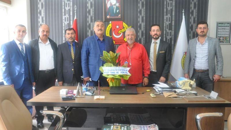 Erzurumlulardan KOGACE'ye ziyaret