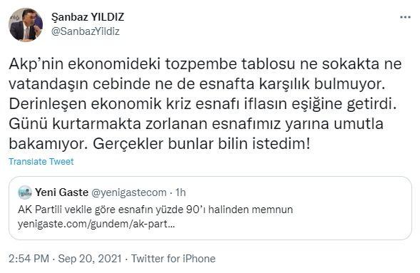 İYİ Partili Başkan'dan AK Partili Vekile esnaf cevabı