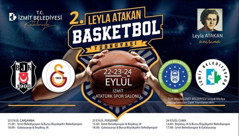 2. Leyla Atakan Turnuvası  yarın başlıyor