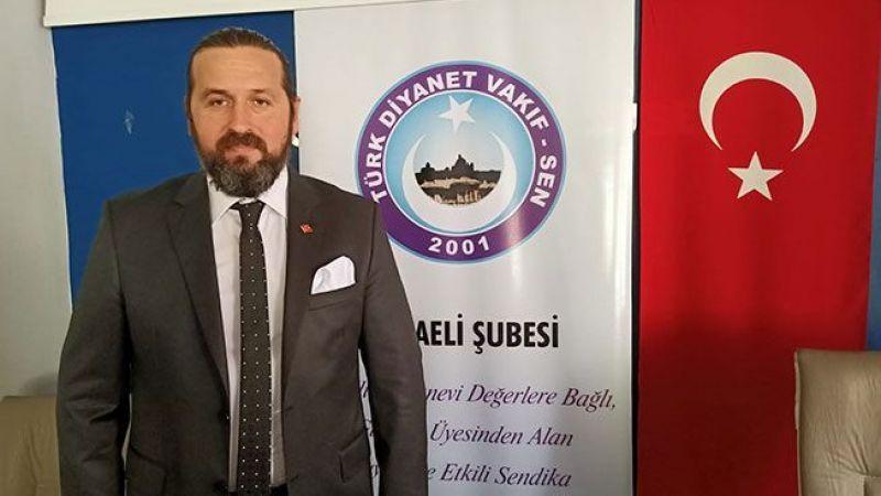 Türk Diyanet Vakıf Sen'den 20. yılında Genel Kurul çağrısı