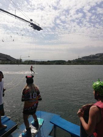 İzmit'te wakeboard heyecanı