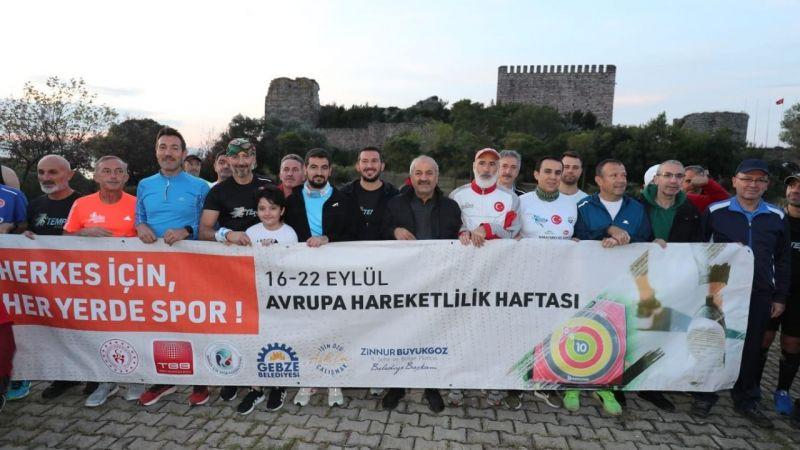 Avrupa Hareketlilik Haftası Gebze'de kutlandı