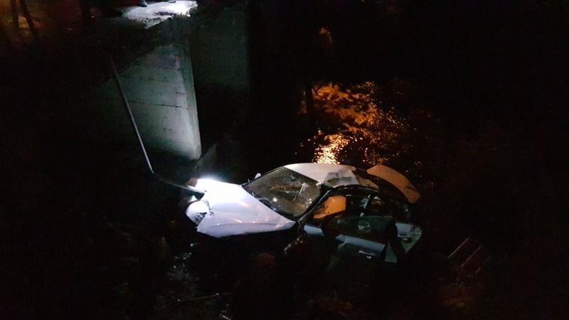 Aracıyla dereceye uçan adam hayatını kaybetti