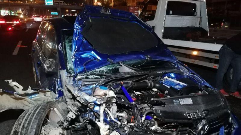 Gebze'de zincirleme kaza! 3'ü çocuk 7 yaralı var