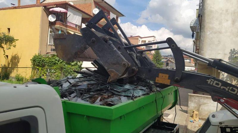 İzmit Belediyesi her ay150 ton atık cam topluyor