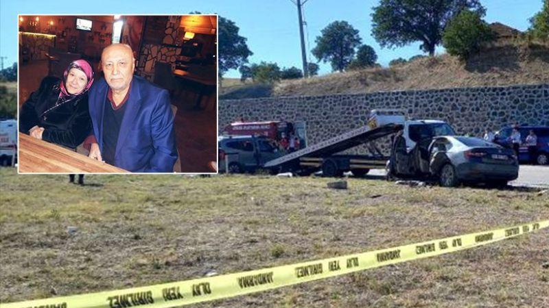 Kütahya'dan acı haber: Çeltik çifti kaza kurbanı