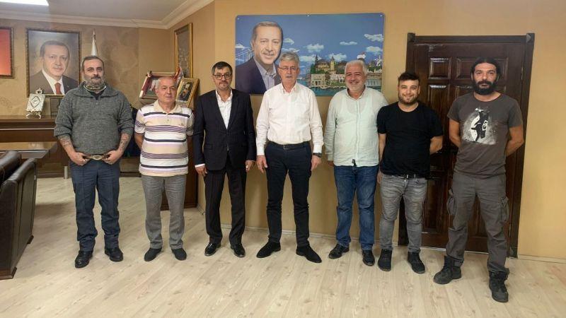 MEY-DER'den AK Parti'ye ziyaret