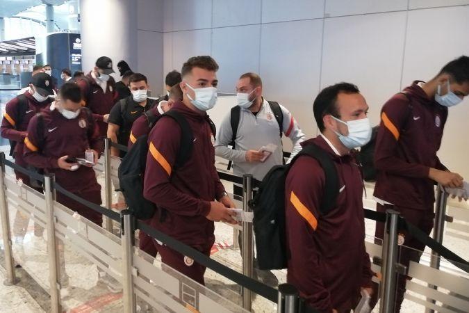 Galatasaray, Fransa'ya uçtu