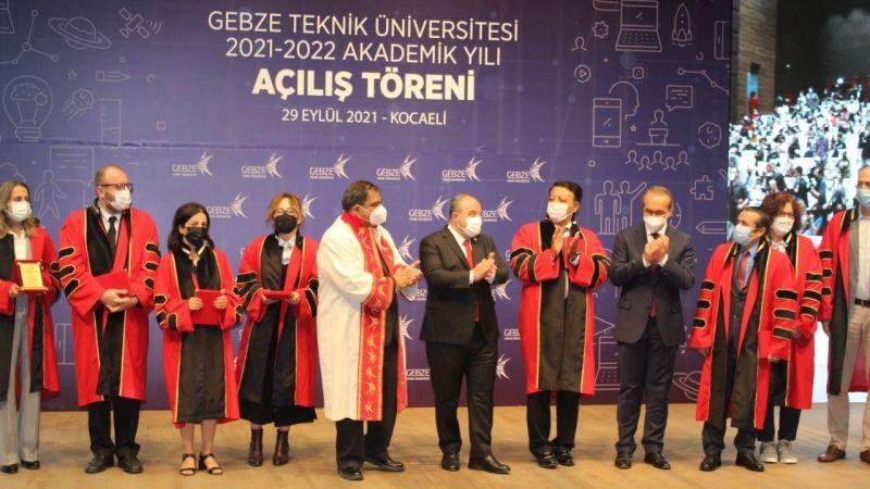 Sanayi ve Teknoloji Bakanı Mustafa Varank Kocaeli'ye geldi