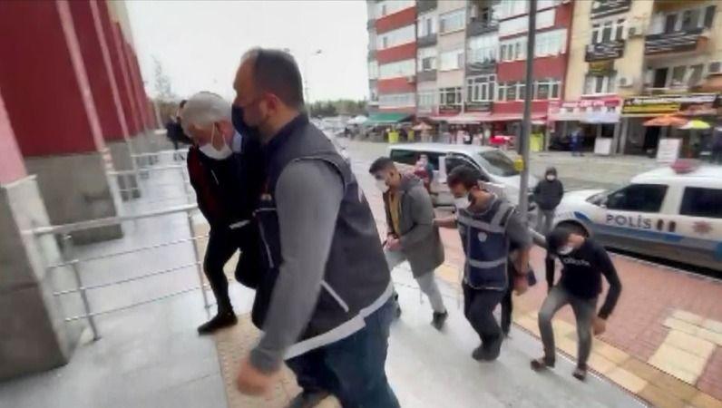 107 kilo eroinle yakalanan 4 kişi tutuklandı