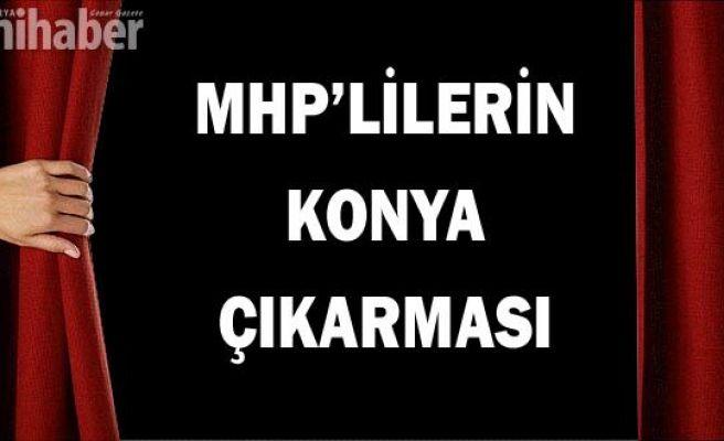 MHP'lilerin Konya çıkarması