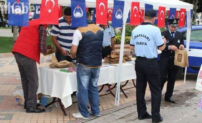 Zabıta Haftası Etkinlikleri Atatürk Bulvarı'nda başladı