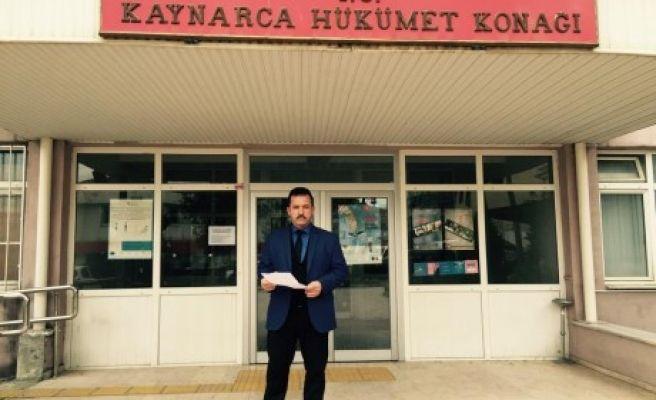 KAYNARCA'DA 'SEÇİM İPTAL OLSUN' BAŞVURUSU