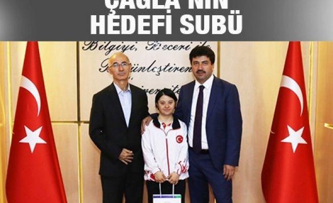 ÇAĞLA'NIN HEDEFİ SUBÜ