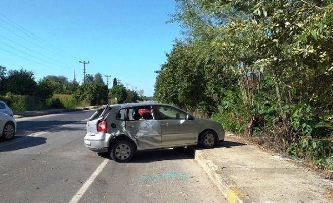 Vakıf Mahallesinde kaza: 1 yaralı