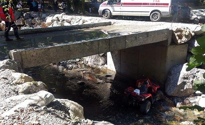Sapanca'da ATV kazası