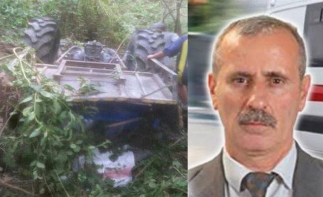 Traktörle dere yatağına yuvarlanmıştı: Ahmet Usta kurtarılamadı