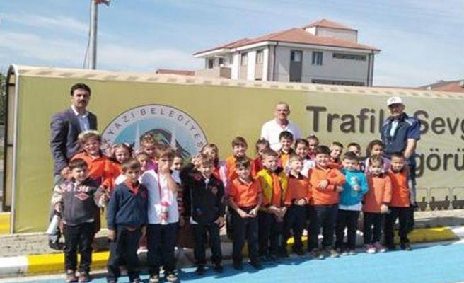 Akyazı Trafik Park'ta eğitimler başladı
