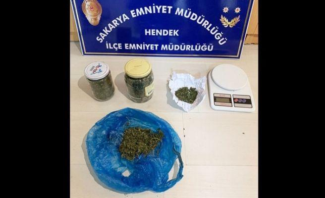 Hendek'te uyuşturucu operasyonu: 1 tutuklama