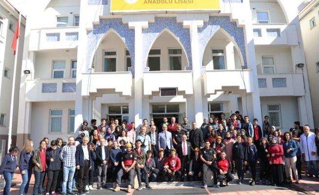 Tes-İş Anadolu Lisesi'nde deprem tatbikatı