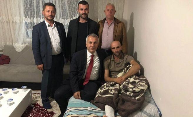 Babaoğlu'ndan Gazi Kumaş'a ziyaret