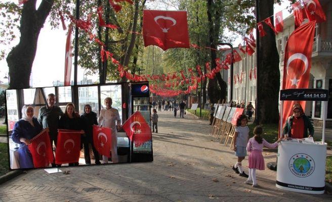 Hendek'te Cumhuriyet coşkusu