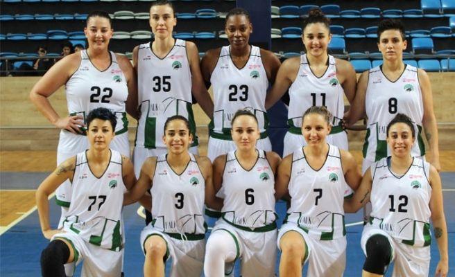 Kadın basketbolcuların BOTAŞ mesaisi