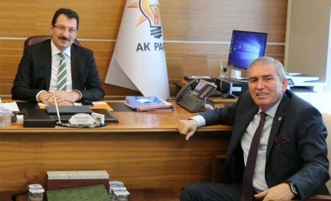 Amatör kulüplerin sorunlarını Yavuz'a anlattı
