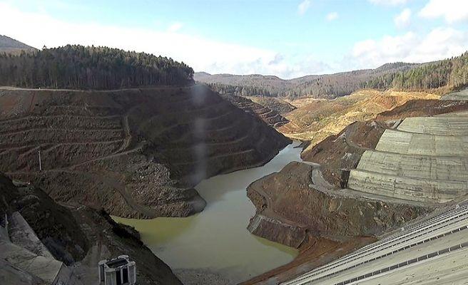 Akçay Barajı doluyor