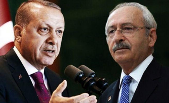 """Erdoğan'dan Kılıçdaroğlu'na """"Tank Palet"""" davası"""