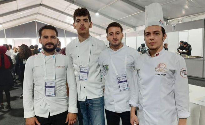 SUBÜ'den gastronomide bir başarı daha