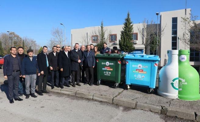 Yenikent'te 'sıfır atık' mutluluğu